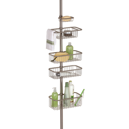 Interdesign Stainless Steel Shower Caddy In Shower Caddies