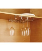 Mounted Stemware Holder - Chrome