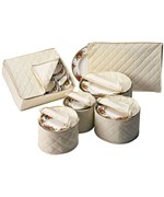Quilted China Storage Set