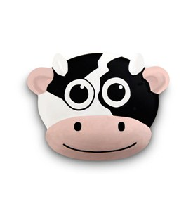 Potato Chip Bag Clip - Talking Cow Image