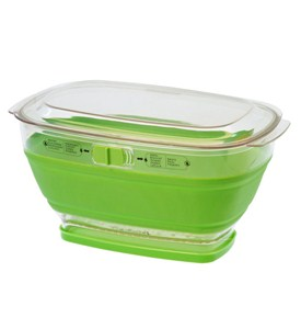 Collapsible Storage Container and Colander Image