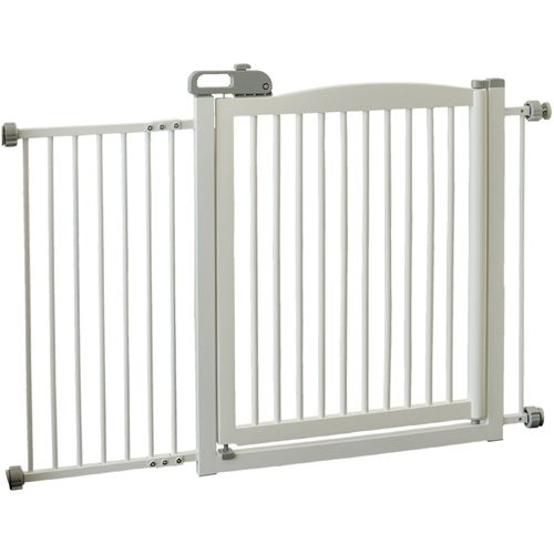 Richell One Touch Pet Gate 150 - Origami White Image