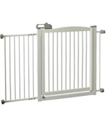 Richell One Touch Pet Gate 150 - Origami White