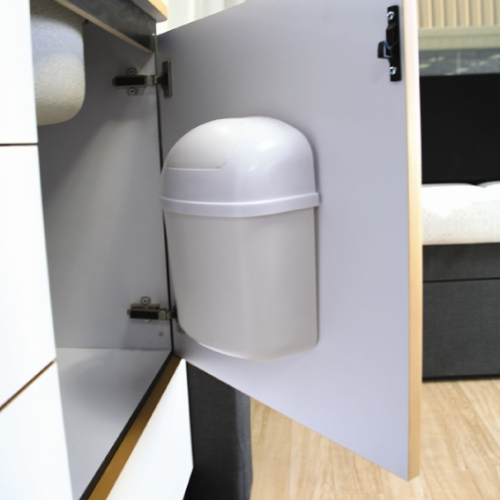 Cabinet Mount Trash Can Image