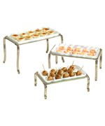 Ceramic Buffet Trays - Satin