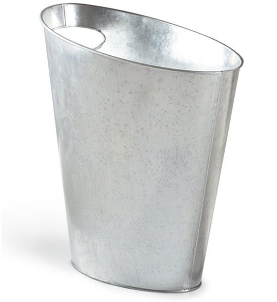 Metal Trash Can - Small in Small Trash Cans