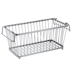 York Stackable Pantry Basket - Silver Image