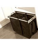30 Inch Pull-Out Double Laundry Hamper