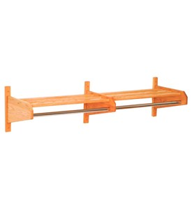 Wall Mount Coat Rack - 64-Inch Image