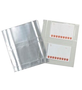 Recipe Card Sheet Protectors Image