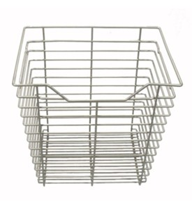 17 in x 17 in Wire Basket Drawer - Nickel Image
