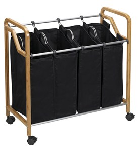 Bamboo Home Laundry Sorter Image