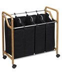 Bamboo Home Laundry Sorter