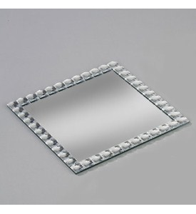 10 Inch Square Jewelry Mirror Image
