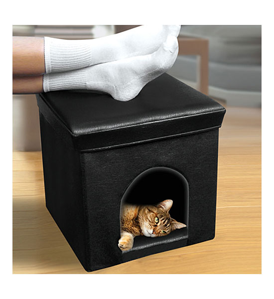 Pet Home and Ottoman Image