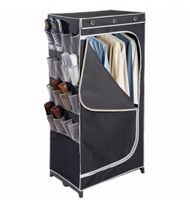 Denier Clothing Wardrobe with Shoe Pockets Image