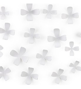 Umbra Wallflower  Wall Decor - White Image