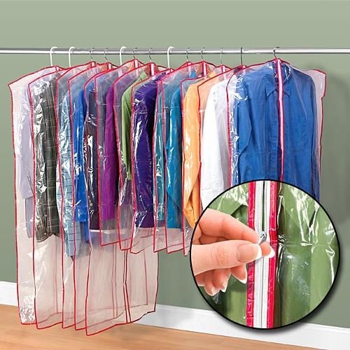 Zippered Garment Bags Set Of 13 In Garment Bags