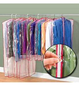 Zippered Garment Bags (Set of 13) Image