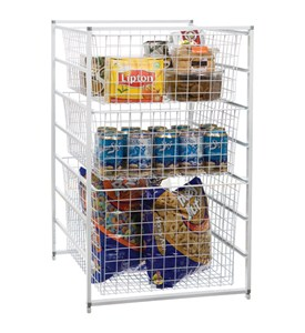 Stor-Drawer Three-Basket Storage System Image