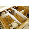 Expandable and Adjustable Drawer Dividers Kit