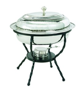 Old Dutch Chafing Dish - Polished Nickel Image