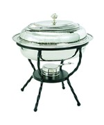 Old Dutch Chafing Dish - Polished Nickel
