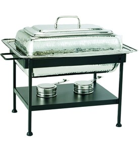 Rectangular Stainless Steel Chafing Dish - Nickel Image
