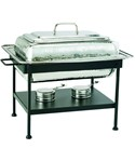 Rectangular Stainless Steel Chafing Dish - Nickel