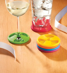 Silicone Grip Coasters (Set of 6) Image
