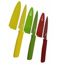 Primary Colors Paring Knives