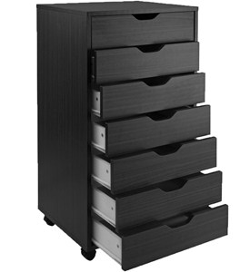 7 Drawer Storage Cart Image