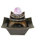 7 Inch Fountain With Led Light by O.R.E.