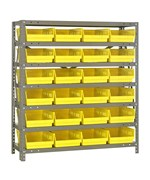 Bin Shelving System - 18D x 36W x 39H - by Quantum Storage Systems