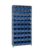 Bin Shelving System 18D x 36W x 75H by Quantum Storage Systems
