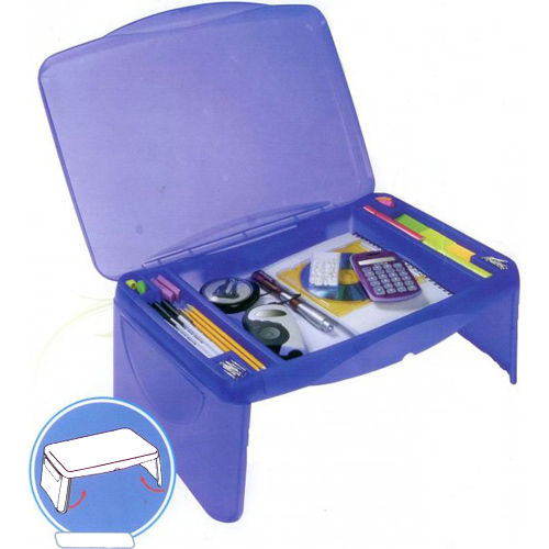 Kids Storage Lap Desk Blue Image