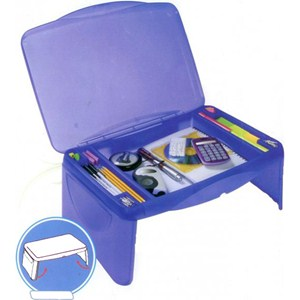 Kids Storage Lap Desk - Blue Image