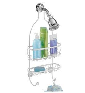 York Hanging Shower Caddy - White Image