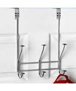 Over the Door Hook Rack - Chrome