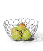 Wire Fruit Bowl - Circle Design