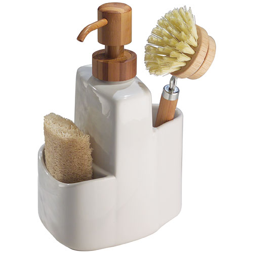 Soap pump and sink caddy formbu in sink organizers - Soap pump caddy ...