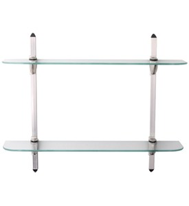 5 x 24 Glass Display Double Shelf Kit Image