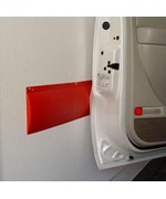 Park Smart Garage Wall Guard - Red