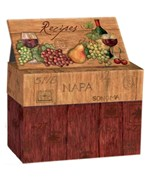 Recipe Card Box - Napa Valley