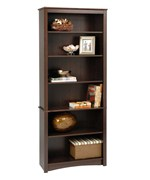 Wooden Bookcase - 77 Inch