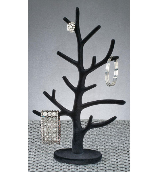 Velour Jewelry Tree Image