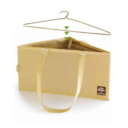 hanger hamper tan in hanger organizers. Black Bedroom Furniture Sets. Home Design Ideas
