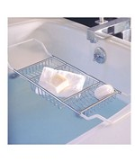 Expandable Bath Caddy - Polished Chrome