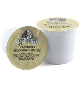 Van Houtte Raspberry Chocolate Truffle K-Cups (Set of 18) Image