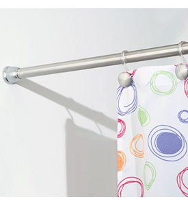 Forma Tension Shower Rod - Stainless Steel Image